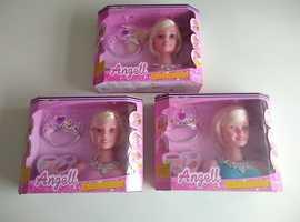 BRAND NEW Angell Hair Styling Head Dream Fashion Hair Dressing Doll