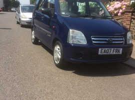 Suzuki WAGON R+, 2007 (07) Blue Hatchback, Manual Petrol, 27,000 miles