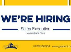 Sales Executive (Two Positions Available)