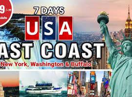 7 DAYS USA EAST COAST