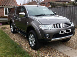 Mitsubishi L200, 2013 (13) Brown 4x4, Manual Diesel, 51,682 miles