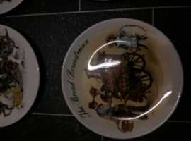 collectable wedgewood plates