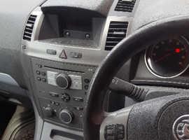 Vauxhall Zafira, 2006 (06) Silver MPV, Manual Petrol, 152,300 miles