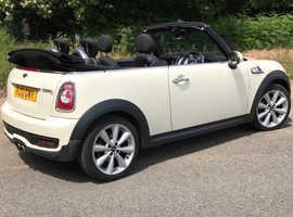2012 Mini Cooper S Convertible *1 OWNER! *1 Yr MOT! BARGAIN! 2 KEYS! 6sp/SPORTS! Quick Sale £4,000!