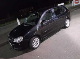 Volkswagen Polo, 2009 (09) Black Hatchback, Manual Petrol, 107,364 miles