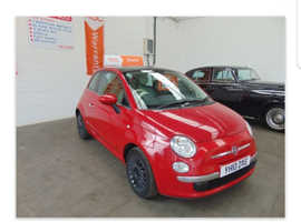 Fiat 500, 2010 (10) Red Hatchback, Manual Petrol, 78 miles