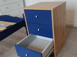 3 Drawer Bedside Chest