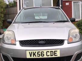 Ford Fiesta, 2006 (56) Silver Hatchback, Manual Petrol, 79,000 miles
