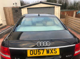Audi A6, 2007 (57) Black Saloon, Manual Petrol, 116,289 miles