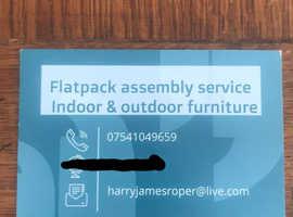 Flat pack james assembly service