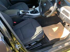 BMW 3 Series, 2010 (60) Black Saloon, Manual Petrol, 93,424 miles