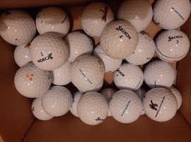 Hundreds of golf balls srixon Callaway titleist Taylormade nike etc