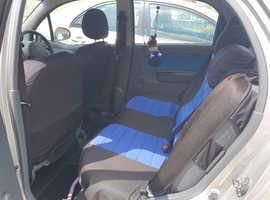 Chevrolet Matiz, 2008 (08) Silver Hatchback, Automatic Petrol, 43,500 miles