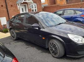 Vauxhall Vectra, 2008 (08) Black Hatchback, Manual Petrol, 180,468 miles