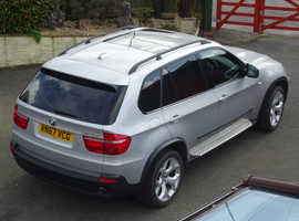 BMW X5, 2007 (57)  Estate, Diesel, very low mileage and exceptional condition inside and out.