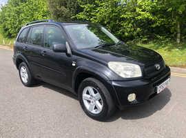 2004 Toyota Rav4 xt3 vvti 2.0 Petrol SUV, 12 month MOT, large boot space