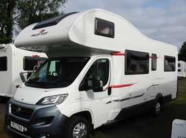 Spacious 6 Berth 6 Belt Motorhome