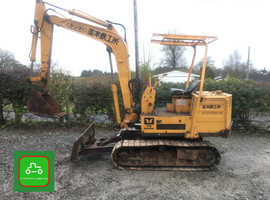 YANMAR YB1200SL 2.8 TON MINI DIGGER ALL WORKS VERY TIDY LO HRS SEE VIDEO CAN DELIVER + VAT