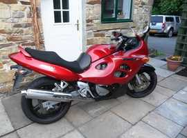 Suzuki gsx750f 2003 ground up overhaul MOT no advisers