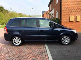 Vauxhall Zafira, 2010 (60) Blue MPV, Automatic Diesel, 67,000 miles