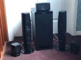 Panasonic Home Cinema 5.1 channel Surround Speakers
