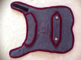 Harris Tweed Dog Coat