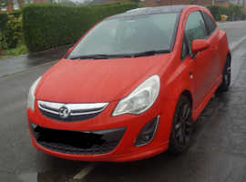 Red corsa limited edition