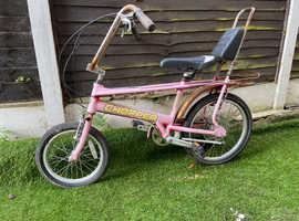 Raleigh chopper mk3 pink