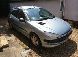 Peugeot 206, 2003 (03) Silver Hatchback, Manual Petrol, 98,000 miles