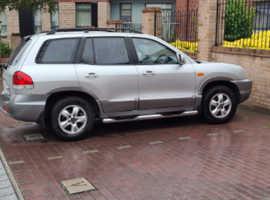 Hyundai Santa Fe, 2005 (05) Silver Estate, Manual Diesel, 97,137 miles