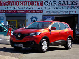 2015/65 Renault Kadjar 1.2 TCE Expression Plus finished in Tango Red Metallic., 32,127 miles