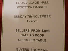 INDOOR CAR BOOT/ANTIQUE AND COLLECTIBLES TABLE  TOP SALE