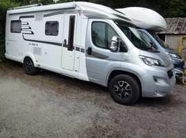 HYMER EXSIS T588 AUTO £49,995