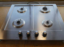Gas hob four burners. 9 months old