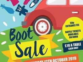 Stockport Academy Year 11 Charity Car Boot Sale