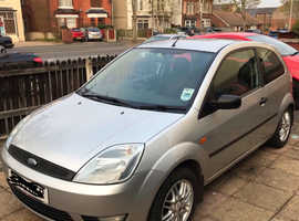 Ford Fiesta, 2003 (03) Silver Hatchback, Manual Petrol, 185,000 miles
