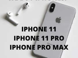 WE BUY PHONES! (Iphone 11, Pro & Pro Max)