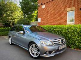 "2009 59 REG Mercedes-Benz C Class 2.1 C200 CDI Sport Auto 5dr "" ESTATE "" HPI CLEAR """