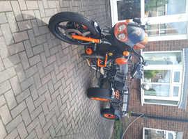 Honda C X 500 Trike and trailer