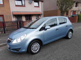 BARGAIN, 2008(08) Vauxhall Corsa, 1.2 Life 5 door Hatchback, LOW MILEAGE CAR (only 64,000 miles)