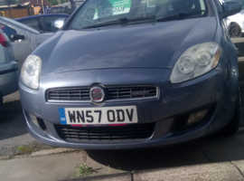 Fiat Bravo, 2007 (57) Blue Hatchback, Manual Diesel, 105,000 miles