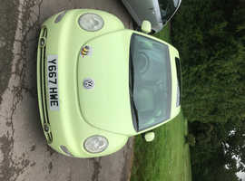 Volkswagen Beetle, 2001 (Y) Yellow Saloon, Manual Petrol, 171,002 miles