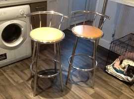 Breakfast bars stools and breakfast bar legs