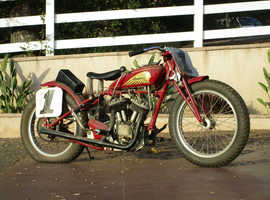 1938 Indian Sport Scout Racer