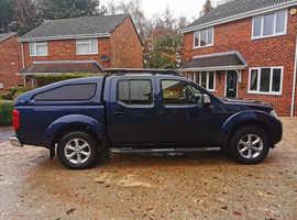 Nissan Navara, 2012 (61) Blue 4x4, Manual Diesel, 68,000 miles