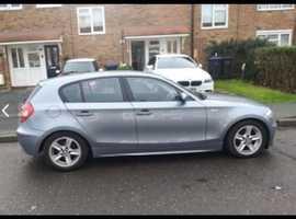 BMW 1 series, 2005 (05) Blue Hatchback, Manual Diesel, 170,000 miles