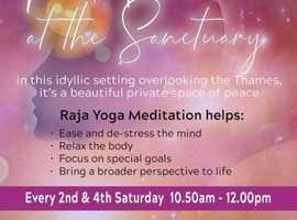 Meditation at the Sanctuary