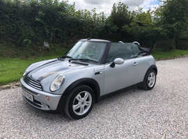 Silver MINI One Convertible, 2006 (55), 1.6L, 4 seats