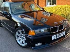 BMW 318 I AUTO, 1994 (L) black saloon, Automatic Petrol, 122,350 miles