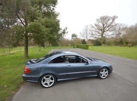 Mercedes Clk, 2006 (56) Blue Coupe, Automatic Diesel, 86,845 miles